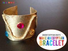 explore ancient egypt: make egyptian bracelets