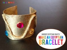 explore ancient egypt: make egyptian bracelets