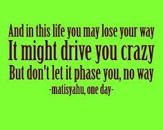 matisyahu is the LOVE of my life.