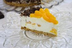 Cheesecake cu mandarine si ciocolata/ Mandarins chocolate cheesecake
