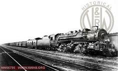 N&W Class Z2 1399 Right Side 3/4 View at Roanoke,VA Date Unknown