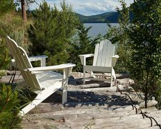 Diy Garden Furniture, Patio Furniture Sets, Outdoor Furniture, Furniture Layout, Outdoor Dining, Outdoor Chairs, Outdoor Decor, Pallet Furniture Headboard, Recycled Plastic Adirondack Chairs
