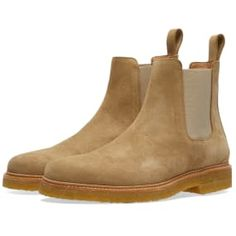 Buy the Zespa Chelsea Boot in Sable Suede from leading mens fashion retailer END. - only Fast shipping on all latest Zespa products Tan Leather Boots, Suede Leather, Men S Shoes, Shoes Sneakers, Trendy Shoes, Chelsea Boots, Shoe Boots, Dress Shoes, Footwear