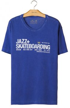 Osklen - T-SHIRT STONE JAZZ SKATEBOARDING - t-shirts - men
