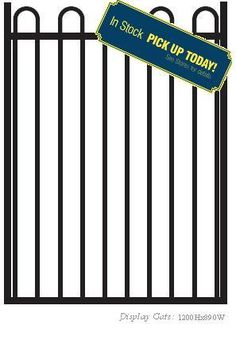 #FlatTopDoubleGate 1500H x 3000 We are a preferred name in Australia for availing the most durable Security Gates. We are engaged in making available different kinds of Security Gates including Sliding Gates and Swing Gates. Visit:  http://fencewarehouse.com.au/product_detail/flat_top_double_gate_1500h_x_3000.htm