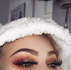 Matte Eye Makeup, Shimmer Eye Makeup, Eye Makeup Cut Crease, Pretty Eye Makeup, Bright Eye Makeup, Bronze Makeup, Beautiful Eye Makeup, Flawless Makeup, Makeup Eyeshadow
