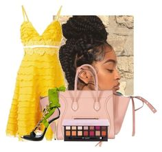 """""""Untitled #2464"""" by kenndrips ❤ liked on Polyvore featuring Giambattista Valli, CÉLINE and Dsquared2"""