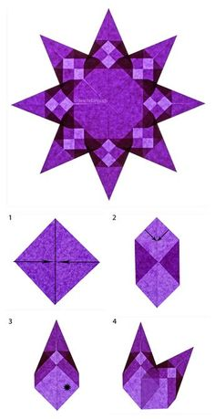 Folding DIY paper stars: Instructions for origami stars - Nicest ThingsPaper Stars Fold Mini Easy GuideAdvent crafting made easyAdvent crafting made easy Origami Paper, Diy Paper, Paper Crafting, Origami Boxes, Dollar Origami, Origami Bird, Kids Origami, Origami Dragon, Origami Animals