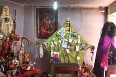 Santa Muerte Shrine, Tultitlan, Mexico