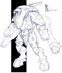 Tau Stealth suit - W40k