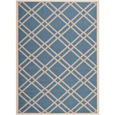 Safavieh Courtyard Jasper Indoor/Outdoor Area Rug, Blue