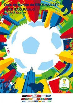 Posters das 12 cidades-sede da Copa do Mundo de 2014   Assuntos Criativos