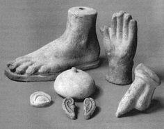 Ex-Voto anatomiques - Sanctuaire Italie -