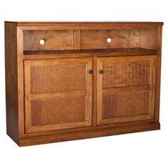 Eagle Furniture Coastal 55 in. Wood Panel Entertainment Center - 72559WPIA, EAGL224-10