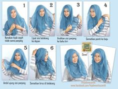 hijab-tutorial-paris-segiempat-curly. Style Hijab fashion hijabmuseum.com