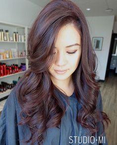 dark brown hair color idea