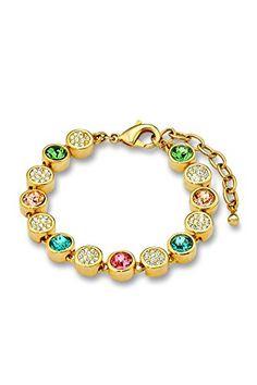 Noelani Damen-Armband Swarovski Elements Messing rhodiniert Kristall mehrfarbig 21 cm - 495264 Noelani http://www.amazon.de/dp/B00XBNK6TS/ref=cm_sw_r_pi_dp_Nk9Ovb0DSN423