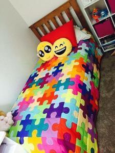 Jigsaw quilt