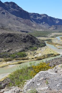 Rio Grande ....On route from Big Bend State Park to Big Bend National Park