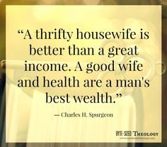 A Thrifty housewife...  Find more encouragement at Byte-Sized Theology! www.bytesizedtheology.com
