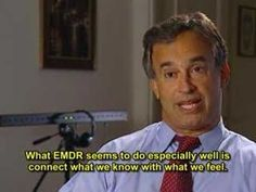 A brief video clip of Eye Movement Desensitization and Reprocessing (EMDR) in process; after video, click to read interview with Andrea Goldberg, LCSW on What Is EMDR?