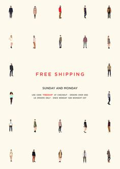 NEED SUPPLY  FREE SHIPPING.  NICE ONE. Banner Design, Layout Design, Web Design, Email Design Inspiration, Layout Inspiration, Need Supply, Email Newsletter Design, Logos Retro, Web Banner