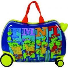 505fcc643 ATM Luggage Kids TMNT Wheeled Cruiser - Graphic 3-7Y Kids Luggage, Carry On