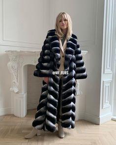 Chinchilla Fur Coat, Fur Coats, Furs, Winter Jackets, Passion, Lady, Clothing, Women, Fur