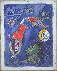 The Blue Circus (1950) - Marc Chagall