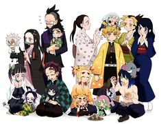 Read Kimetsu No Yaiba / Demon slayer full Manga chapters in English online! Anime Chibi, Kawaii Anime, Manga Anime, Me Anime, Anime Demon, Anime Bebe, Desenhos Love, Demon Hunter, Dragon Slayer