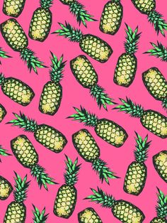 Pineapple Pattern Art Print by Georgiana Paraschiv | Society6