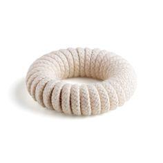 Coiled Bangle - Natural   Eleanor Bolton
