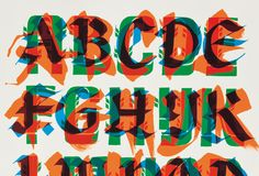 By Letman aka Job Wouters - a master of the hand-crafted decorative letter Cool Typography, Graphic Design Typography, Graphic Art, Better Books, Men Of Letters, Typography Inspiration, Letter Logo, Custom Paint, Signage