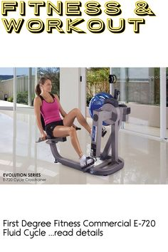 First Degree Fitness Commercial E-720 Fluid Cycle XT (This is an affiliate pin)