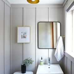 Before and After: The Powder Room Reveal