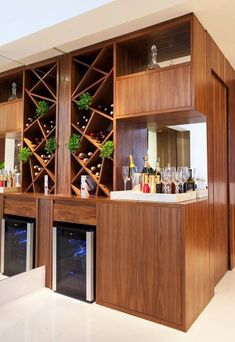Crockery Cabinet, Bar Unit, Wine House, Home Bar Decor, Patio Bar, Kitchen Cabinet Design, Cafe Bar, Apartment Design, Bars For Home