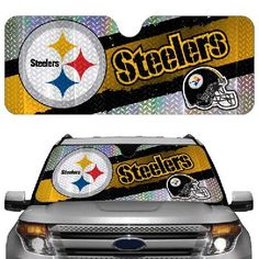 NFL Pittsburg Steelers Automotive Reflective Sun Shade Car Preorder free s/h