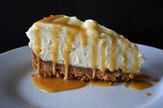 Wagamama White Chocolate and Ginger Cheesecake with Ginger Butterscotch Sauce Delicious Desserts, Dessert Recipes, Yummy Food, Wagamama Recipe, Sweet Recipes, Whole Food Recipes, Butterscotch Sauce, Berry Cake, Cheesecake Desserts