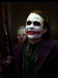 Heath Ledger's Joker - The Dark Knight Joker 2008, Joker Heath, Heath Ledger Joker, The Dark Knight Trilogy, Gotham Batman, Ps4, The Darkest, Acting, Cinema