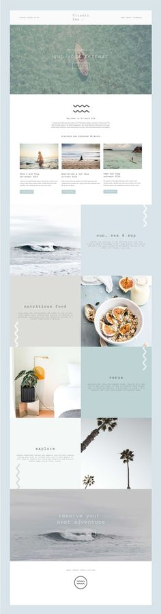 Website Design from Kurly Creative Squarespace Website Design Design Sites, Web Design Projects, Homepage Design, Web Design Tips, Blog Design, Ux Design, Minimal Web Design, Website Layout, Website Ideas