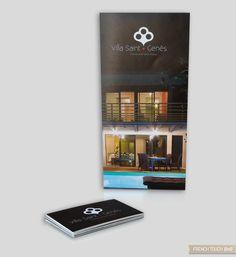 Villa Saint Genès - Création print - Réalisation d'un flyer et de cartes de visite Saint, Creations, Villa, Touch, Carte De Visite, Cards, Fork, Villas, Mansions