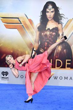 Jessie Graff at an event for Wonder Woman (2017)