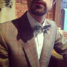 What's Ra wearing to #iDFW today?? The Country Cottage Suit and the Cherry-X Shirt #wearingmister
