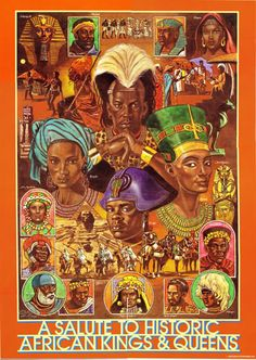 African Kings and Queens