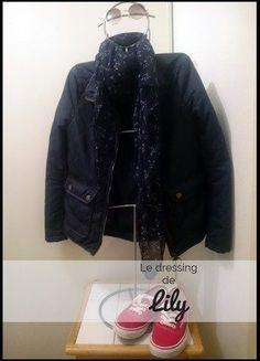 À vendre sur #vintedfrance ! http://www.vinted.fr/mode-femmes/doudounes/27057728-blouson-leger-hm-t34-bleu-marine