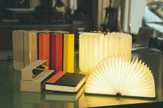 Shark Tank Book Light Beauteous Bring Me The Horizon With Lights #book Lamp  Postmodern Lamps 2018
