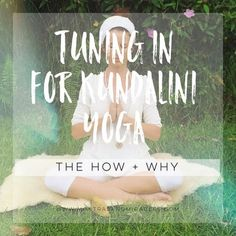 """In Kundalini Yoga we do not start without this mantra Ong Namo Guru Dev Namo. It's a telephone number of Shakti, with its own area code number, and it is a direct line."" - Yogi Bhajan  Tuning in, as instructed before the kriya, is an essential part of th"