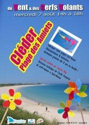 Journée du Vent & des Cerfs Volants, Cléder, Bretagne