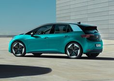 VW ID.3 rear view Audi, Porsche, Bmw, Volkswagen, Rear View, Jaguar, Peugeot, Nissan, Mercedes Benz