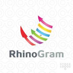 Six colorful chart bars transformed into rhino head to convey the idea of growth and financial prosperity. Way from 'histogram' to RhinoGram. Rhino Logo, Golf Art, Wealth Affirmations, Make Your Logo, Rhinos, Rich Life, Animal Logo, Social Media Design, Psychology
